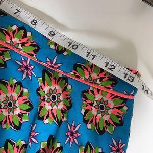Flying Tomato Skirts - Flying tomato blue floral mini skirt size L